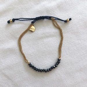 Stella & Dot • Navy Courage Friendship Bracelet